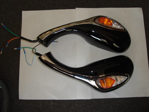 Rear View Mirrors 150cc Venton Phantom GMI 406-1563