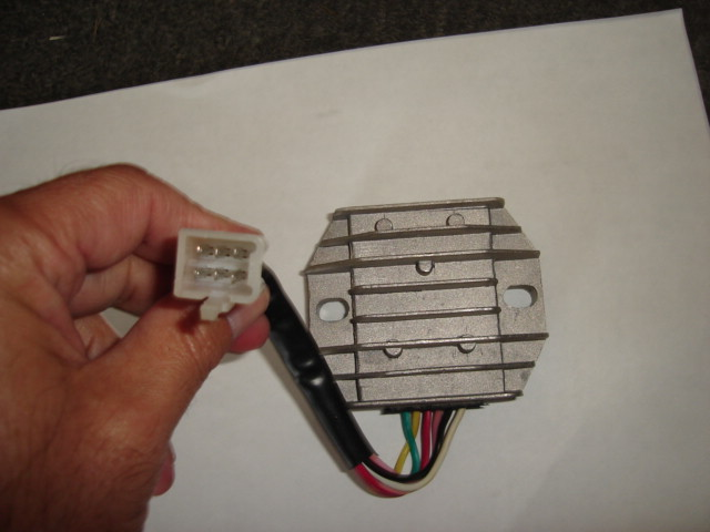Voltage Regulator 150/250cc 6 wire-1918