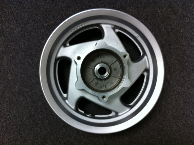 Rear Alloy Wheel, Disc Brake Linhai 260cc Scooter-780