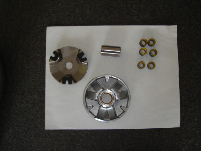 49.5cc Clutch and Variator Assembly
