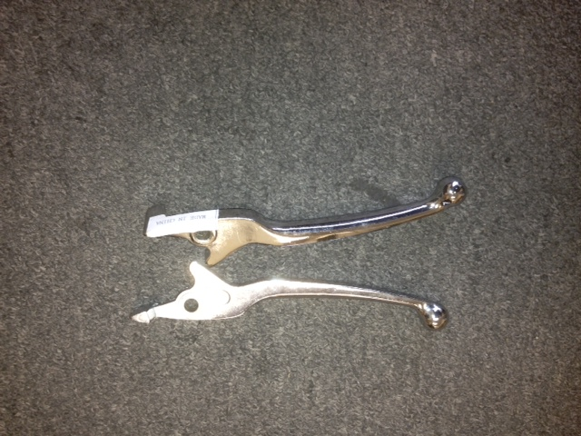Chrome Right Hand Disc Brake lever Item 2532