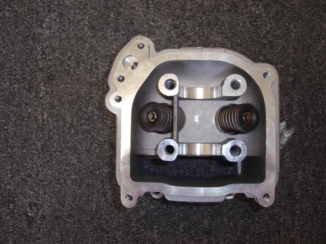 50cc Cylinder Head with Valves and EGR-2184