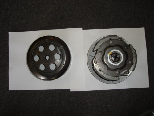 Complete Clutch Assembly 172mm Linhai 250cc -1802