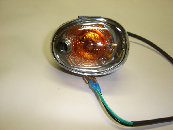 Left Front Turn Signal Light Assembly, BKM Scooter-808