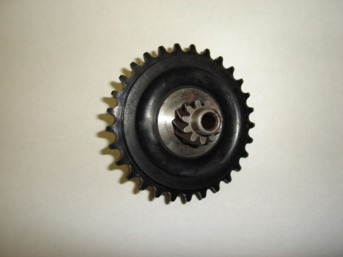 Rear Sprocket Geely style engine D1E41QMB-1656