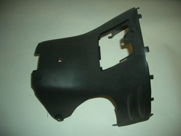 Black Plastic Scooter Lower Foot Guard GMI 102-159