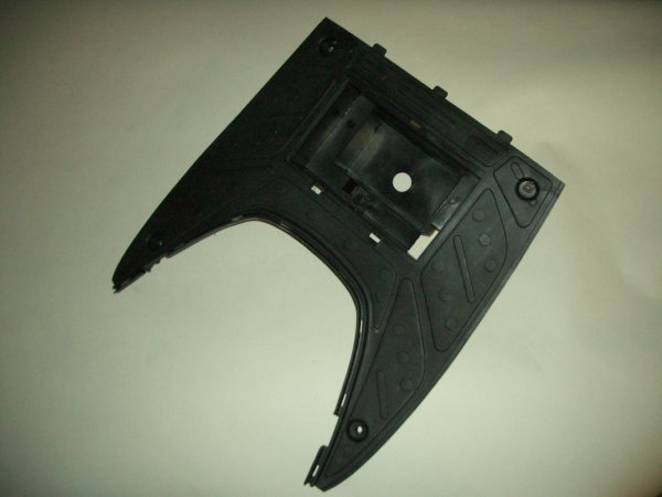 Black Plastic Scooter Floorboard GMI 102-156