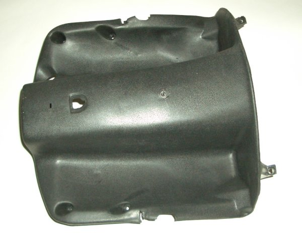 Black Plastic Upper Part Scooter Legshield GMI 104-166