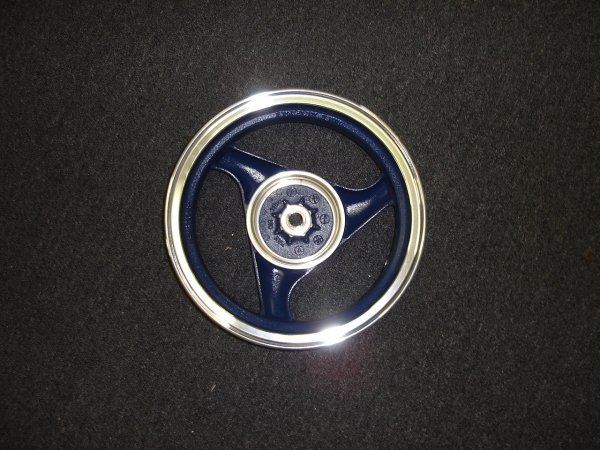 Rear Alloy Wheel, Drum Brake, 12 inch Vento Zip r3i Style Scooter -787
