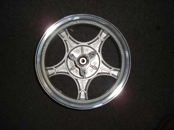 Front Alloy Wheel, Disc Brake, Large Retro Scooter-772