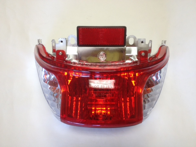 Tail Light Assembly MT-13 Scooter-931